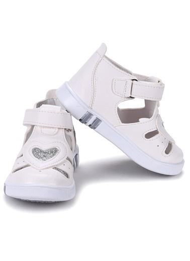 Kiko Kids Bebek Ayakkabısı Beyaz